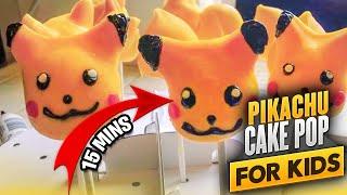 Pikachu Cake Pop Recipe