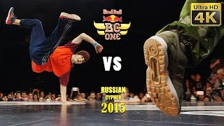Red Bull BC One Russian Cypher 2015, Moscow - Finals - 4K LX100