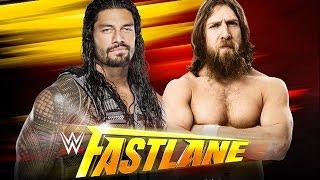 Roman Reigns vs. Daniel Bryan- Fastlane WWE 2K15 Simulation