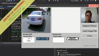 License plate recognition use C# EmguCV full source code and tutorial