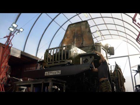 Урал 4320 МТП. Установка передней лебедки и нового бампера.