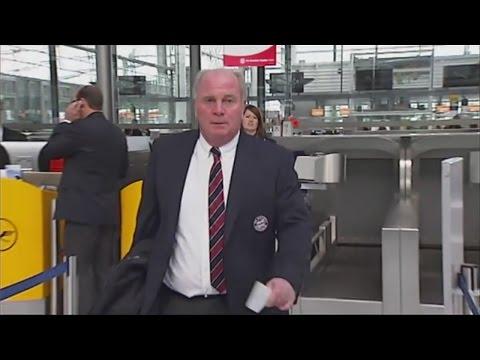 Uli Hoeneß: FC Bayern-Präsident greift die Justiz scharf an