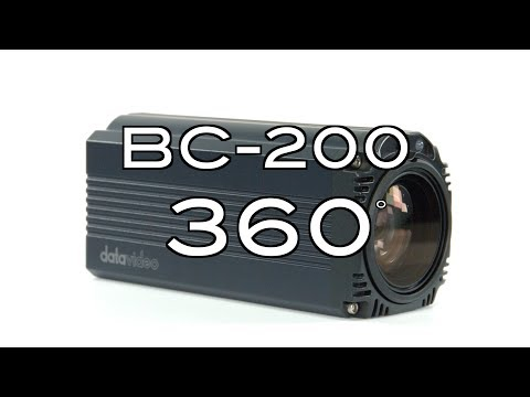 【360 Product Video】BC-200 4K Block Camera Datavideo