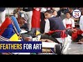 WATCH: Feather Art - Dr Esther Mahlangu ups the stakes at high school masterclass