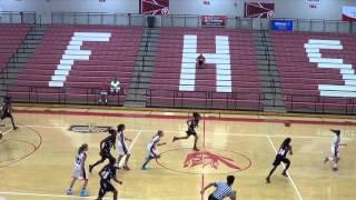 13 Year Old Girl Ballin.  2013 AAU 7th Grade National Tournament