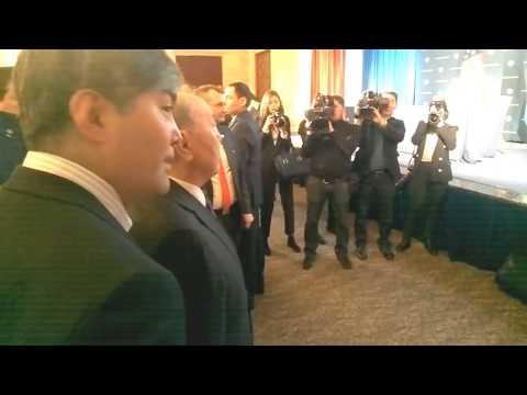 Kazakhstan President Nursultan Nazarbayev honored by US Chamber of Commerce #Trump
