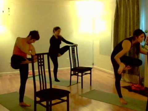 Fitness Barre class, vacation mode with Carla and Stephanie