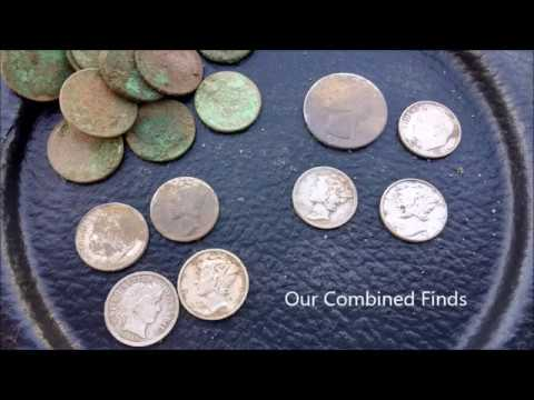 Ep.#37 Another Amazing 8 Silver Coin Day!!! Minelab Etrac. Detecting Wisconsin.