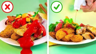 25 Smart Fast Food Hacks For Real Foodies  Unusual Tricks With Ketchup You Need to Try!