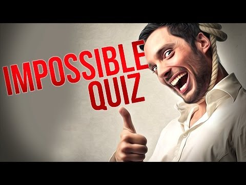 Thumbnail: DON'T TRY THIS! - Impossible Quiz - Part 2