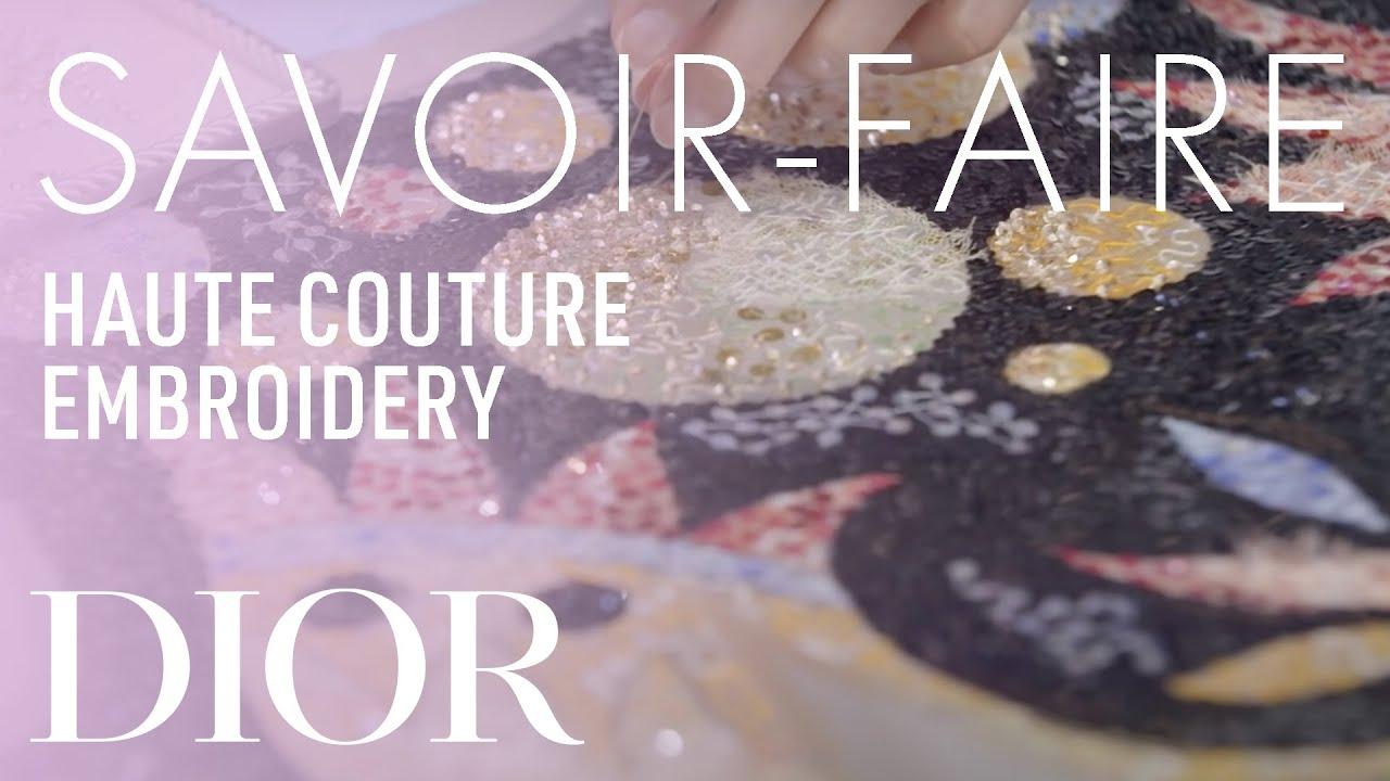 Embroideries Savoir-Faire - Dior Spring-Summer 2019 Haute Couture show in Dubai