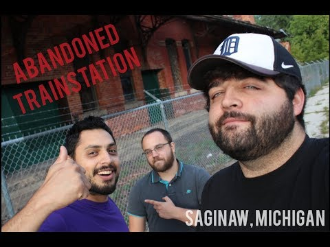 ABANDONED TRAIN STATION - Saginaw, MI-