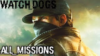 watch Dogs (PS4 Pro 1080p) Longplay Walkthrough Full Gameplay