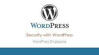 WordPress Security - WordPress Singapore