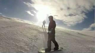 Драгобрат катание на лыжах
