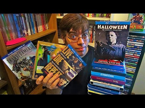 My Blu-Ray Collection Update 9/26/14 ( Blu ray and Dvd Movie Reviews )
