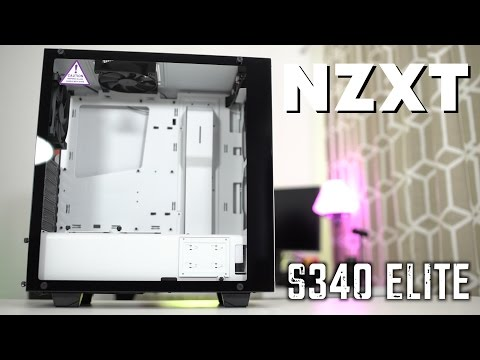 NZXT S340 Elite Mid Tower PC Case Overview!