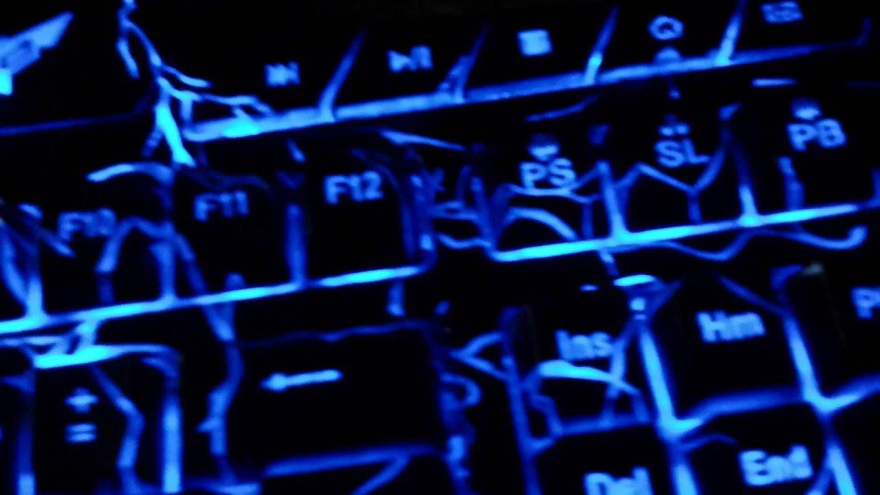 Bluefinger light up keyboard