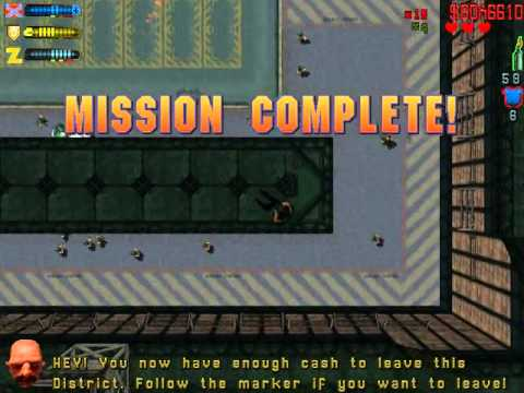 GTA 2 Residential All Missions (57:22)