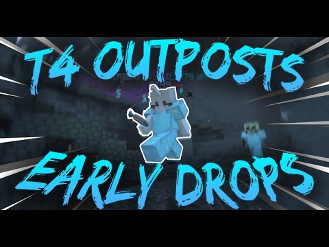 Early T4 Drops + Outpost Fights | Dungeon Realms #2