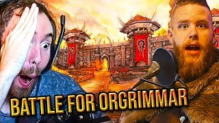 Asmongold Reacts To THE BATTLE FOR ORGR MMAR Classic WoW Stress Test Adventure   Nixxiom