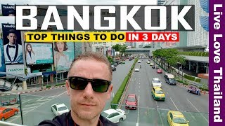 BANGKOK TRAVEL GUIDE - Top Things to Do & see in 3 Days in Bangkok #livelovethailand