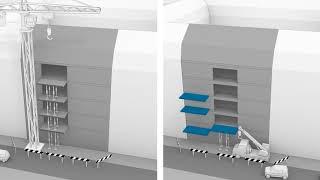 Innerstädtisch Bauen. Flexible Balkonmontage mit Schöck Isokorb® ID.