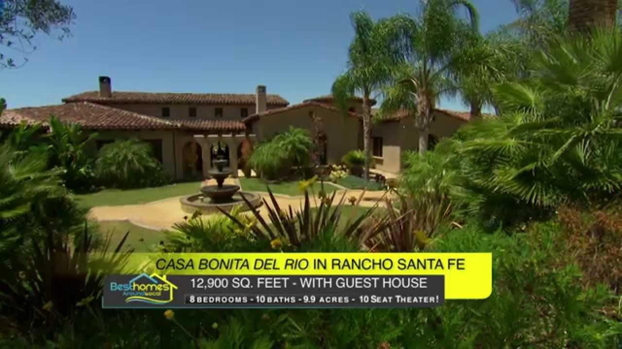 Casa bonita del rio in rancho santa fe with equestrian - Casas bonitas fotos ...