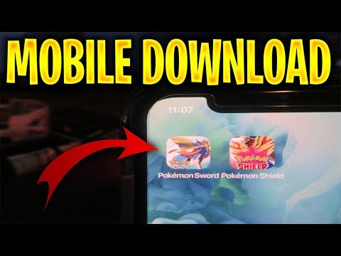 Pokemon Sword & Shield Mobile Download 🔥 Pokemon Sword And Shield Mobile Gameplay IPhone/Android APK