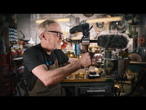 Adam Savage's One Day Builds: Portable Audio Recorder Rig!