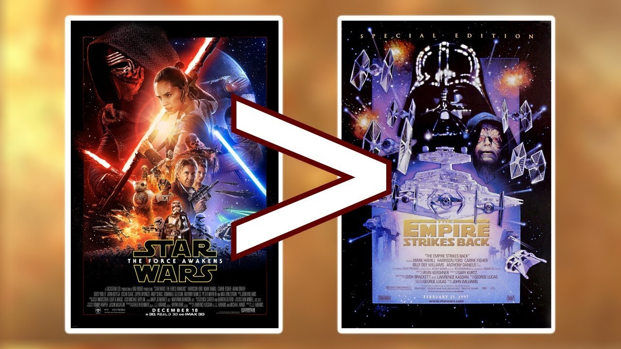 The Highest-Grossing Star Wars Movies (In Order) - YouTube