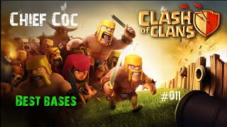 Clash of Clans - Best Bases - Farming Base TH9 4th Mortar included