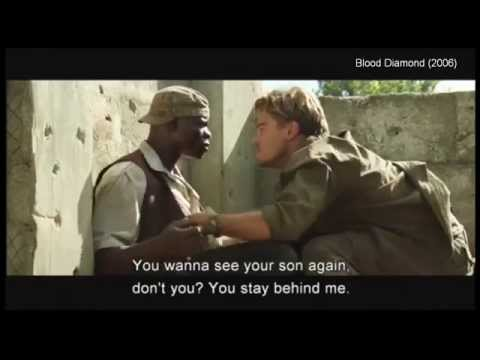 clip10 Its as I said, you will say anythingBlood Diamond 2006