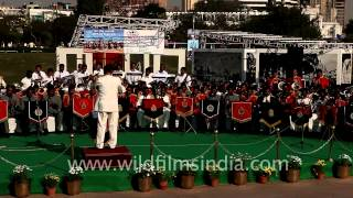 Bands from different states of India performing at Central park of New Delhi
