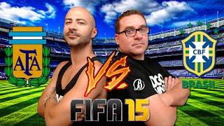 RIC & DIEGO MIRANDA | FIFA 15 | ARGENTINA VS BRASIL
