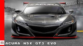 Acura NSX GT3 Evo 2019