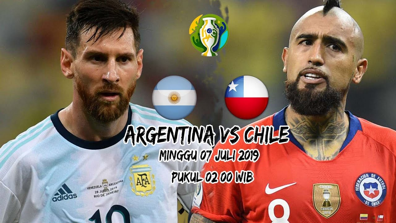 Argentina 2-1 Chile 3rd Place Copa America 2019 7 6