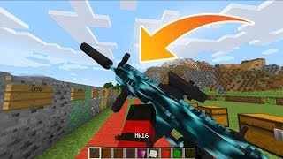 ARMAS REALISTAS!! AS ARMAS MAIS REALISTA DO MINECRAFT!!