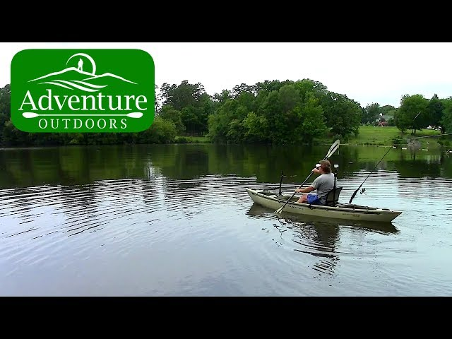 Trying Crappie Fishing With Native Ultimate FX12 Kayak