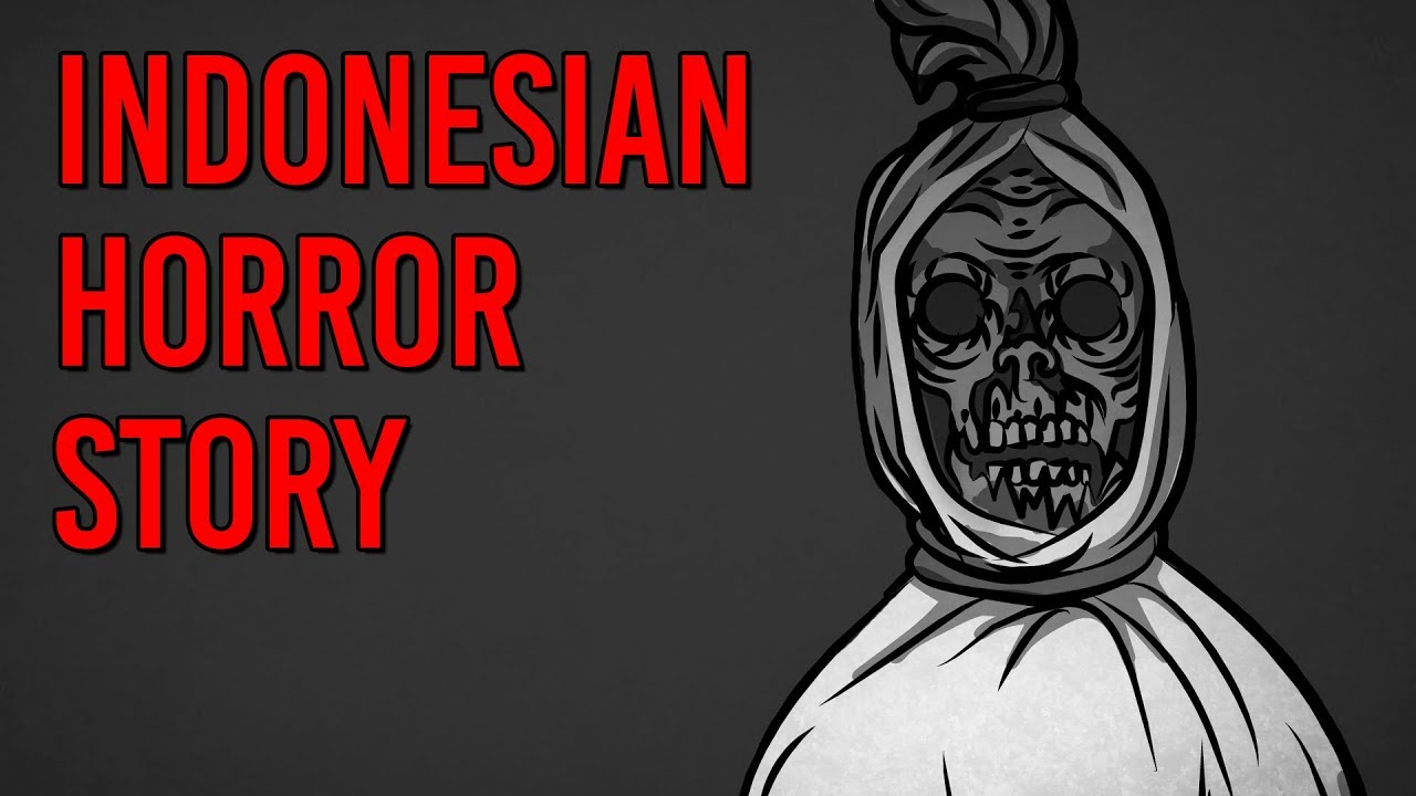 the pocong indonesian scary