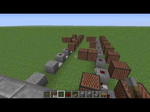 Nokia Tune on Minecraft Note Blocks