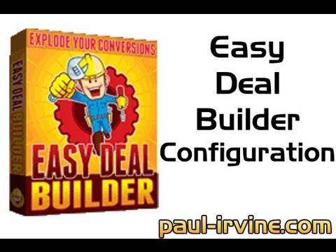 easydealbuilder review configuration steps