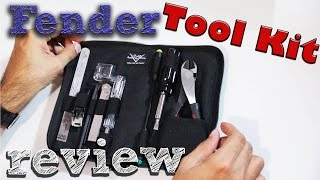 Fender Tool Kit (herramientas) review