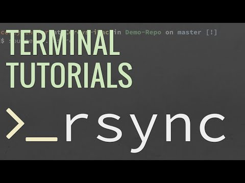 Linux/Mac Terminal Tutorial: How To Use The Rsync Command - Sync Files Locally And Remotely