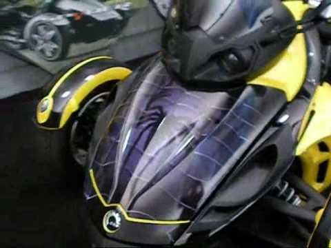 Can Am Spyder Vinyl Graphic Wrap Powersportswraps Com