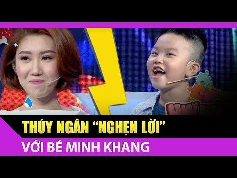 Bé Minh Khang khiến Hân Hoa Hậu nghẹn lời với câu hỏi mẹo