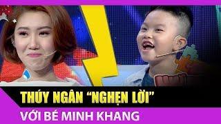 Bé Minh Khang khiến Hân Hoa Hậu nghẹn lời với câu hỏi mẹo - Bản Lĩnh Nhóc Tỳ Tập #35