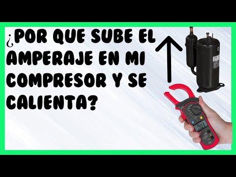¿Por que Aumenta El Amperaje De Un Compresor?,Causas y Soluciones.