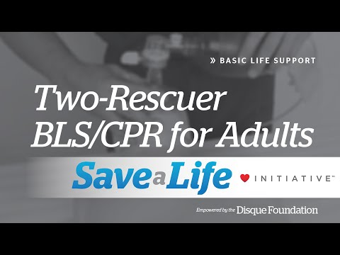 2b Two Rescuer BLS CPR For Adults Basic Life Support BLS