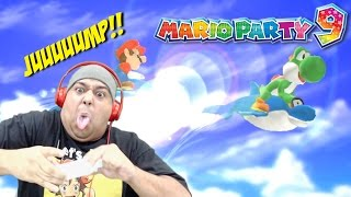 WE'RE ON F#%KING DOLPHINS!!! [MARIO PARTY 9] [MINIGAMES ONLY]